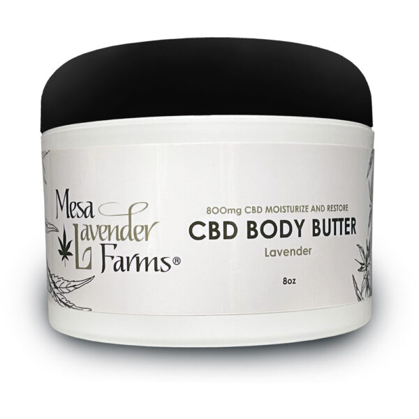 CBD Body Butter 8oz Lavender